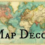 Map Decor for Every Room in Your House