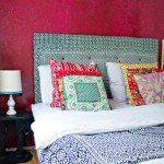 Tufted Canvas Headboard
