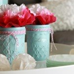 DIY Painted Glass Jars