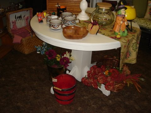 Finished Oak Table