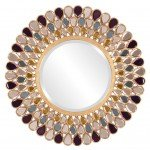 Gorgeous Bejeweled Mirror DIY