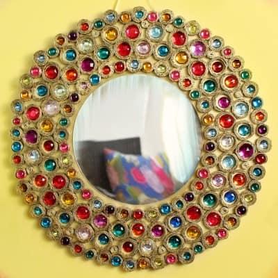 Square2 Boho Mirror