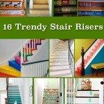 16 Trendy Stair Risers