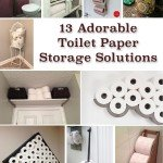 13 Adorable Toilet Paper Storage Solutions