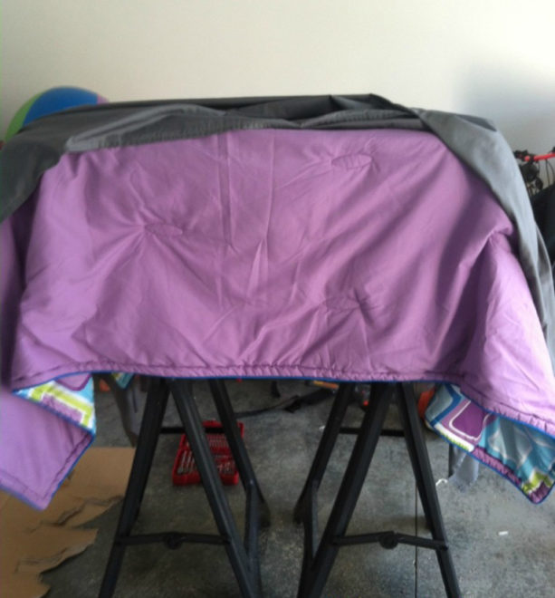comforter for extra padding