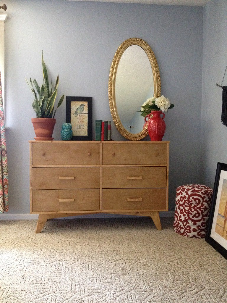 1970s Inspired 6-Drawer Dresser