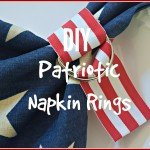 Easy Patriotic Napkin Rings