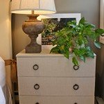 Update a Plain Ikea Chest By Covering In Fabric