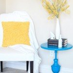 Upcycling a Lamp To a Table