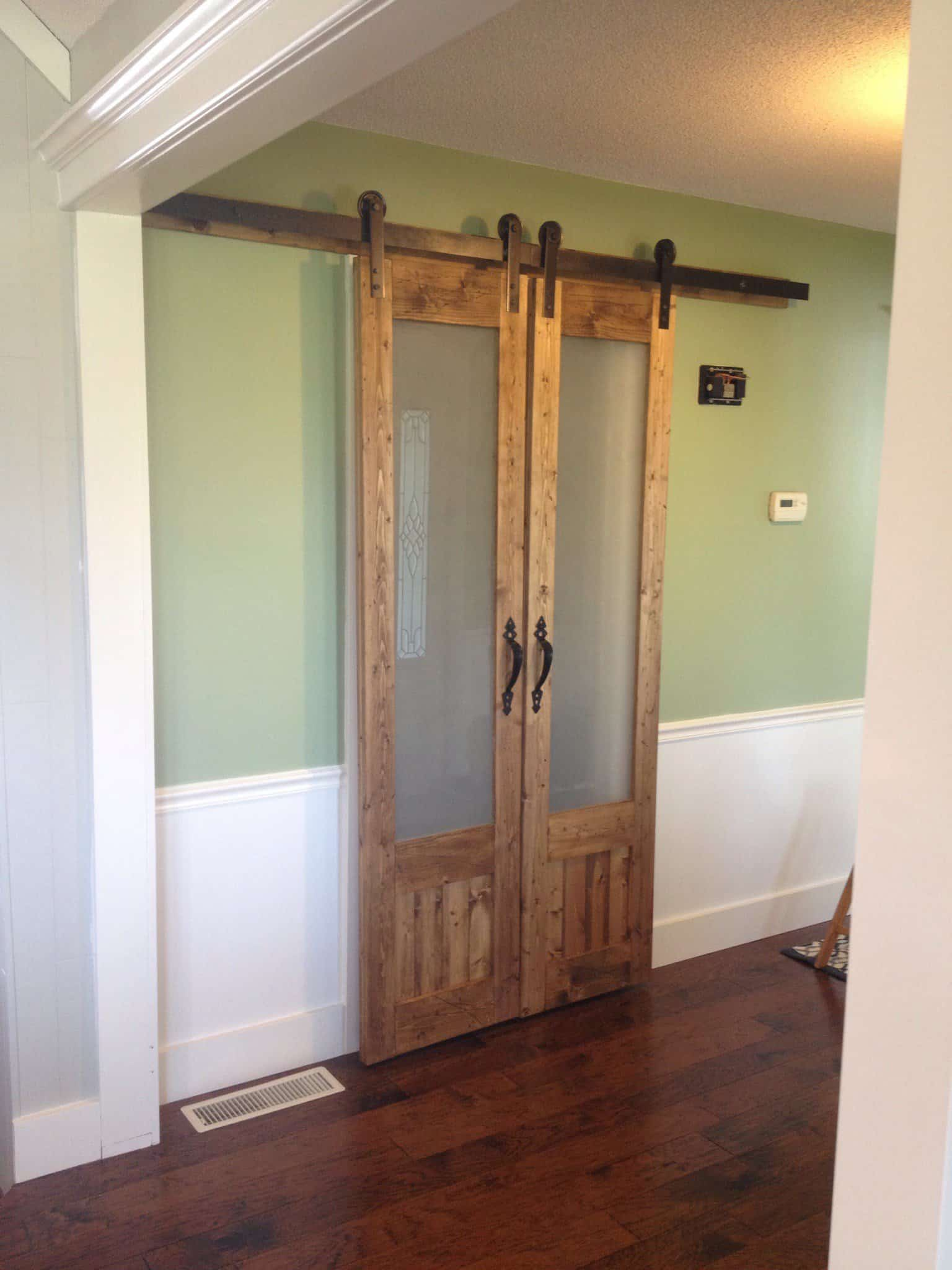 sliding laundry room doors