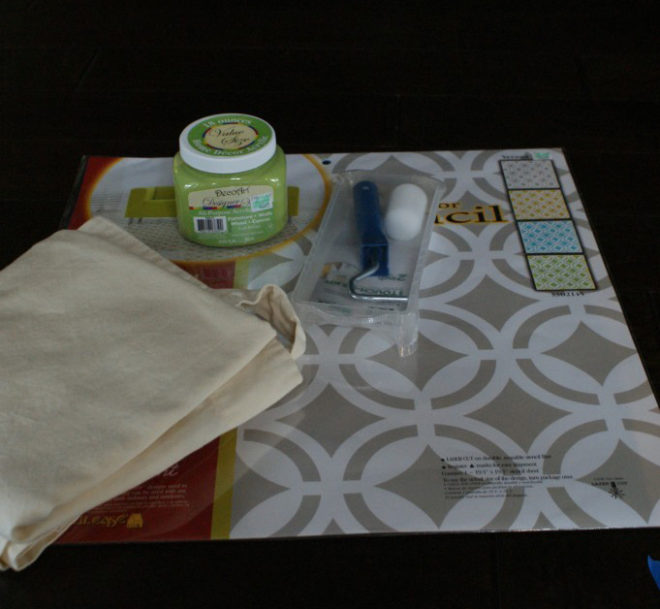 Supplies for painted curtains