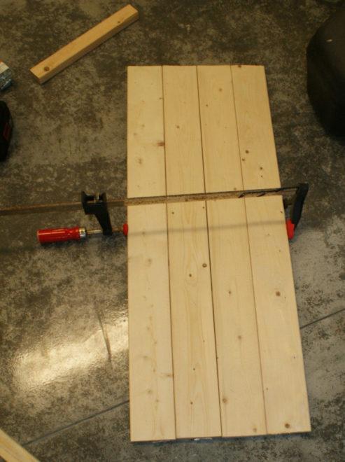 wood strips