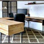 Modern U-Shaped Desk