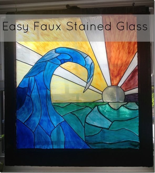 faux stained glass thumb