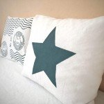 DIY Star Envelope Pillow Cover