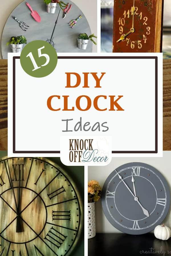 15 DIY Clocks