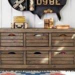 Rustic Crate Dresser