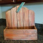 Pallet Wood Pumpkin Planter