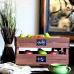 Small Stackable Wooden Crates