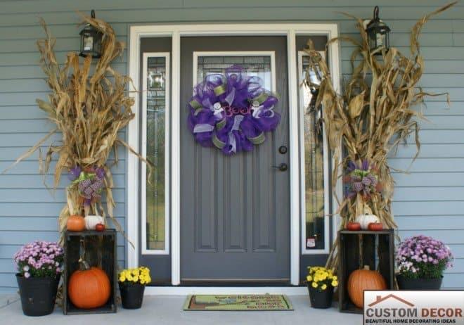Diy Wooden Crate Display For Your Halloween Pumpkins
