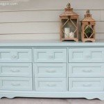DIY Dresser Makeover In Wythe Blue