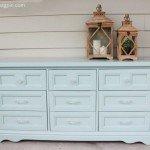 DIY Dresser Makeover In Wythe Blue