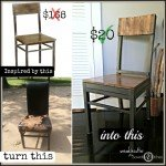 Thrifted Dining Chair Upcycle