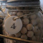 Faux Numbered Wine Barrel Markers