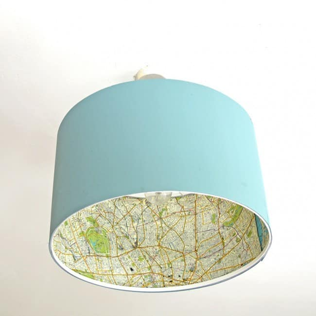 DIY Ikea Lampshade Makeover