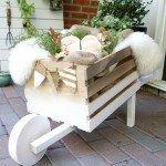 Make Your Own Rustic Display Wheelbarrow