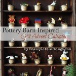 DIY Pottery Barn Inspried Advent Calender