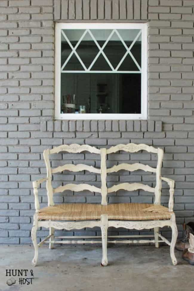 Coastal Inspired Outdoor Chair Makeover