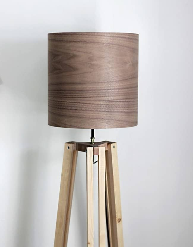 Make Your Own Tripod Floor Lamp