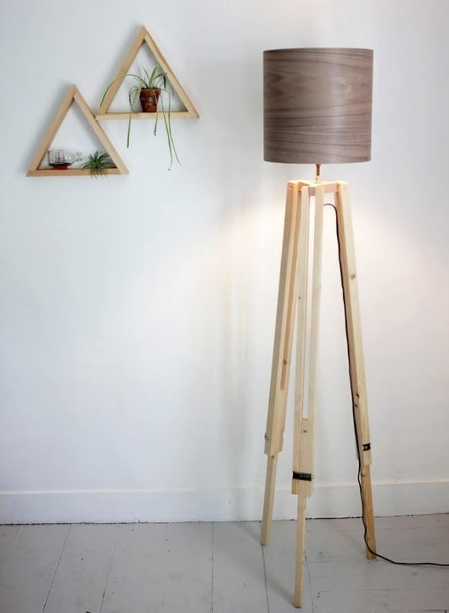 Make Your Own Tripod Floor Lamp Knockoffdecor Com