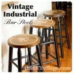 Industrial Numbered Bar Stools
