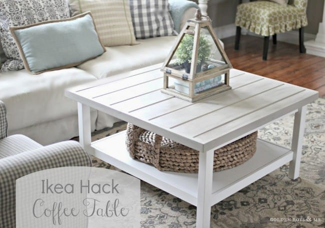 DIY Ikea Inspired Coffee Table