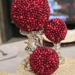 8 Holiday Decor Inspirations with Apples & Cranberries