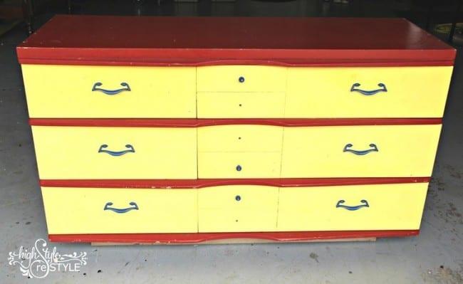 DIY Restoration Hardware Dresser Makeover