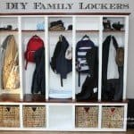 DIY Entryway Storage System