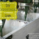 Farmhouse Crate Centerpiece