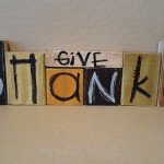 Wooden Block Signs – Easy Holiday Gifts