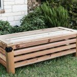 Backyard Storage Bench