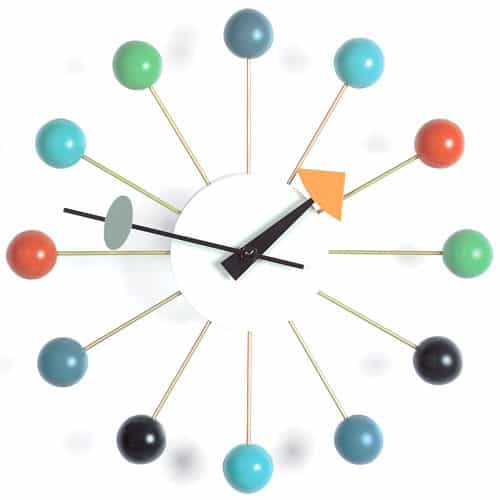 Ball Clock Design George Nelson, 1948 © Vitra Collections AG