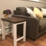 DIY Rustic Side Tables