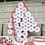 Rustic DIY Advent Calendar