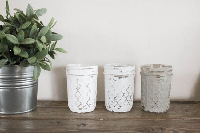 Try Your Hand At This DIY Mason Jar Wall Planter
