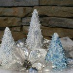 Decorative Caulk Christmas Tree