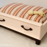 Make A Dog Bed To Look Like An Old Drawer