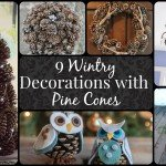 9 Wintry Decorations with Pine Cones