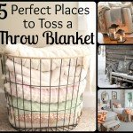 5 Perfect Places to Toss a Throw Blanket